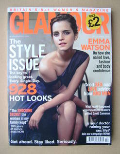 <!--2012-10-->Glamour magazine - Emma Watson cover (October 2012)