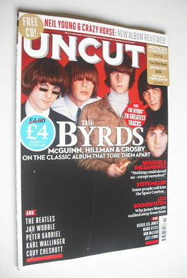 <!--2012-11-->Uncut magazine - The Byrds cover (November 2012)