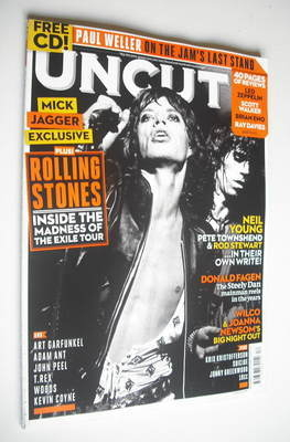 <!--2012-12-->Uncut magazine - The Rolling Stones cover (December 2012)