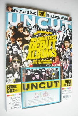 <!--2006-08-->Uncut magazine - 100 Greatest Debut Albums cover (August 2006