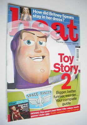 <!--2000-01-27-->Heat magazine - Toy Story 2 cover (27 January - 2 February
