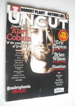 Uncut magazine - Kurt Cobain cover (October 2006)