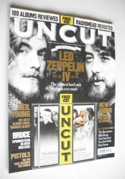 Uncut magazine - Led Zeppelin cover (July 2006)