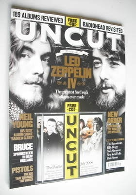 <!--2006-07-->Uncut magazine - Led Zeppelin cover (July 2006)