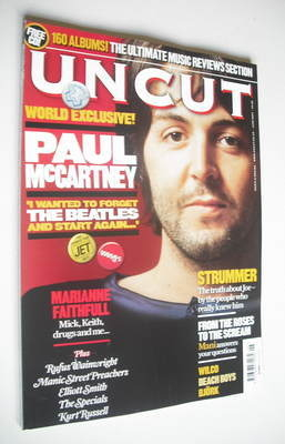 <!--2007-06-->Uncut magazine - Paul McCartney cover (June 2007)