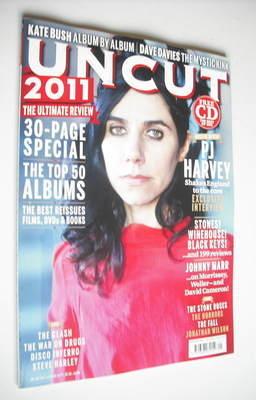 <!--2012-01-->Uncut magazine - PJ Harvey cover (January 2012)
