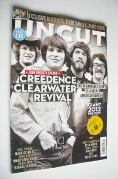 Uncut magazine - Creedence Clearwater Revival cover (February 2012)