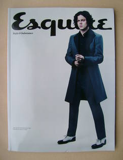 <!--2013-01-->Esquire magazine - Jack White cover (January 2013 - Subscribe
