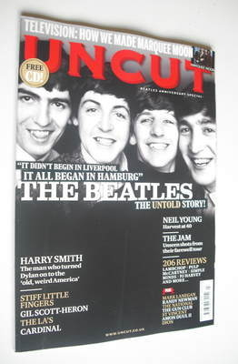 <!--2012-03-->Uncut magazine - The Beatles cover (March 2012)