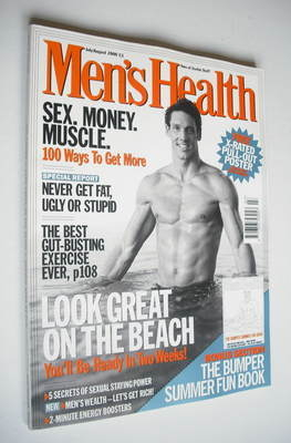 <!--2000-07-->British Men's Health magazine - July/August 2000