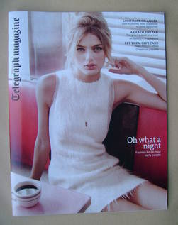 <!--2012-12-01-->Telegraph magazine - Oh What A Night cover (1 December 201