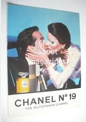 Chanel No 19 original advertisement page (ref. F-CH0001)