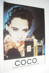 Chanel Coco original advertisement page (ref. F-CH0002)