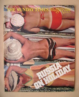 <!--1981-09-20-->The Sunday Times magazine - Russia On Holiday cover (20 Se