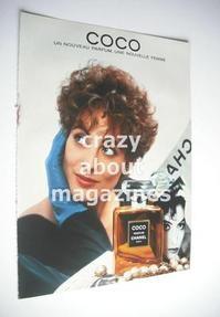 Chanel Coco original advertisement page (ref. F-CH0003)