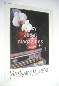 Yves Saint Laurent Opium original advertisement page (ref. F-YS0001)