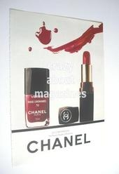 Chanel cosmetics advertisement page (ref. F-CH0001)