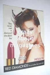 Revlon cosmetics advertisement page (ref. F-RE0001)