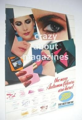Boots cosmetics advertisement page (ref. F-BO0001)
