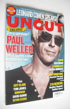 Uncut magazine - Paul Weller cover (December 2008)