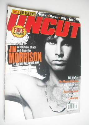 <!--2004-02-->Uncut magazine - Jim Morrison cover (February 2004)
