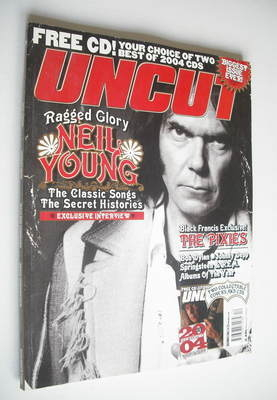 <!--2004-12-->Uncut magazine - Neil Young cover (December 2004)