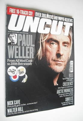 <!--2006-03-->Uncut magazine - Paul Weller cover (March 2006)