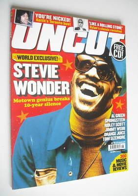 <!--2005-06-->Uncut magazine - Stevie Wonder cover (June 2005)