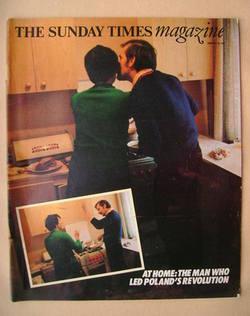 <!--1981-01-18-->The Sunday Times magazine - Lech Walesa cover (18 January