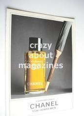 Chanel original advertisement page (ref. M-CH0002)