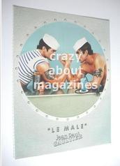 Gaultier Le Male original advertisement page (ref. M-GA0001)