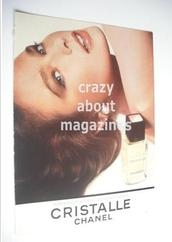 Chanel Cristalle original advertisement page (ref. F-CH0005)