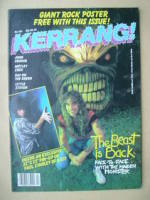 <!--1985-10-03-->Kerrang magazine - Steve Harris cover (3-16 October 1985 - Issue 104)