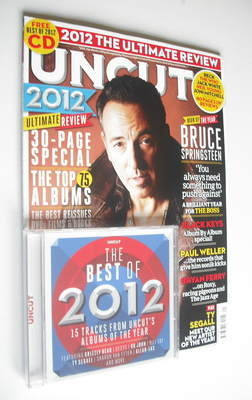 <!--2013-01-->Uncut magazine - Bruce Springsteen cover (January 2013)