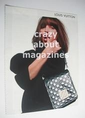 Louis Vuitton handbag advertisement page (ref. F-LV0001)