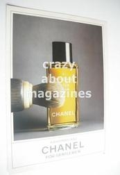 Chanel original advertisement page (ref. M-CH0003)
