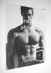 Calvin Klein Man original advertisement page (ref. M-CK0001)