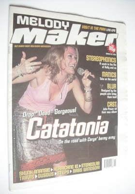 <!--1999-03-20-->Melody Maker magazine - Catatonia cover (20 March 1999)