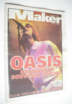 <!--1996-08-17-->Melody Maker magazine - Liam Gallagher cover (17 August 1996)