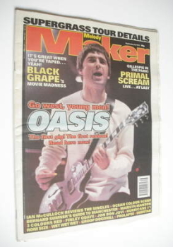 <!--1997-09-20-->Melody Maker magazine - Noel Gallagher cover (20 September 1997)