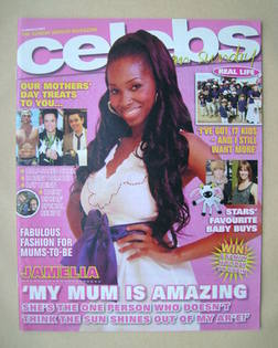 <!--2007-03-18-->Celebs magazine - Jamelia cover (18 March 2007)