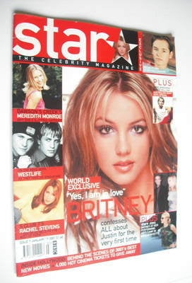 Star magazine - Britney Spears cover (7 January 2001)