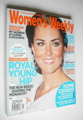 The Australian Women's Weekly magazine - Kate Middleton cover (September 20