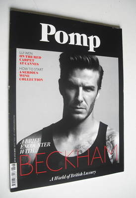 Pomp magazine - David Beckham cover (June-July 2012)