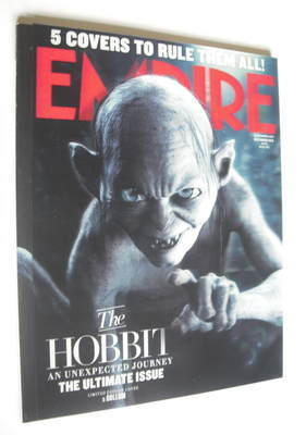 <!--2012-12-->Empire magazine - Gollum cover (December 2012)