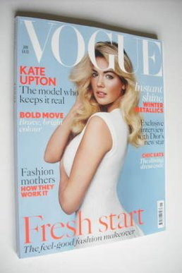 <!--2013-01-->British Vogue magazine - January 2013 - Kate Upton cover