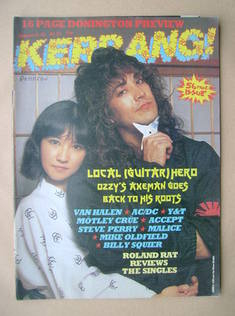 <!--1984-08-09-->Kerrang magazine - Jake E. Lee cover (9-22 August 1984 - I
