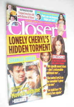 Closer magazine - Cheryl Cole cover (19-25 March 2011)