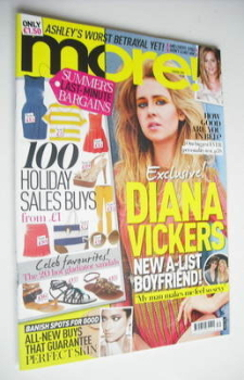 More magazine - Diana Vickers cover (1 August 2011)