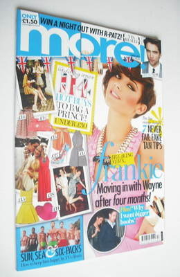 <!--2011-05-02-->More magazine - Frankie Sandford cover (2 May 2011)